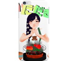 Let's eat! iPhone Case/Skin