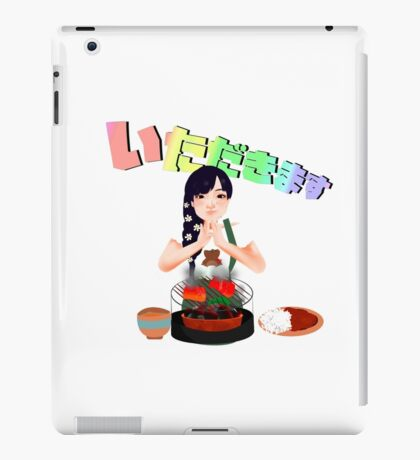 Let's eat! iPad Case/Skin