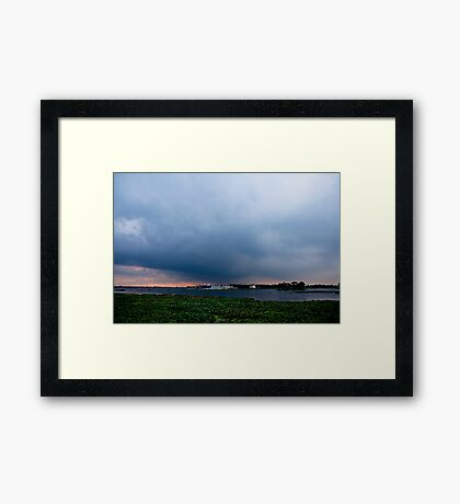 City Side Framed Print