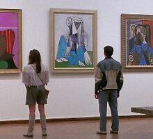 Ferris Bueller- Art Museum by ScabbyKnickers