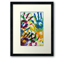 Handy Framed Print
