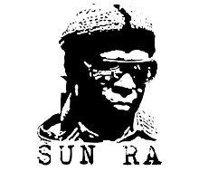 Sun Ra Stencil T-Shirt Photographic Print