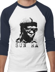 Sun Ra Stencil T-Shirt Men's Baseball ¾ T-Shirt