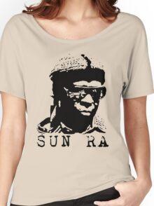 Sun Ra Stencil T-Shirt Women's Relaxed Fit T-Shirt