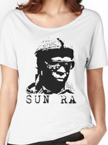 Sun Ra Stencil T-Shirt Women's Relaxed Fit T-Shirt