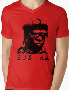 Sun Ra Stencil T-Shirt Mens V-Neck T-Shirt