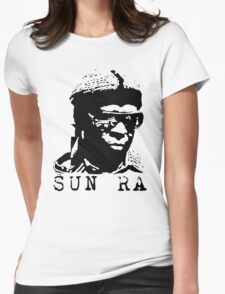 Sun Ra Stencil T-Shirt Womens Fitted T-Shirt
