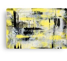 Urban Abstract Painting Canvas Print