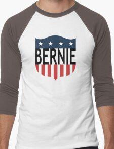 BERNIE stars and stripes Men's Baseball ¾ T-Shirt