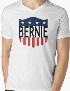 BERNIE stars and stripes Mens V-Neck T-Shirt