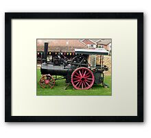 Traction Engine - Church Farm Museum, Skegness Framed Print