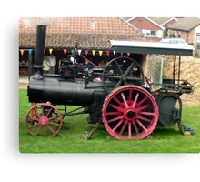 Traction Engine - Church Farm Museum, Skegness Canvas Print