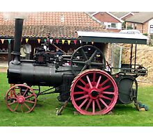 Traction Engine - Church Farm Museum, Skegness Photographic Print