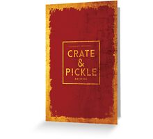 Crate & Pickle Greeting Card