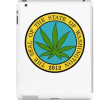Washington Marijuana Cannabis Weed iPad Case/Skin