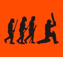 evolution of cricket Kids Clothes