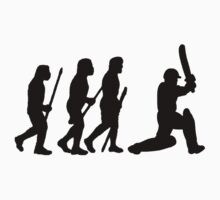 evolution of cricket Kids Clothes