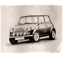 Mini Copper Sketch Poster