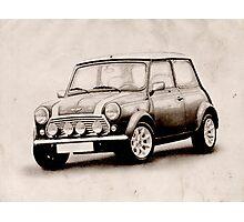 Mini Copper Sketch Photographic Print