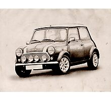 Mini Copper Sketch Photographic Print