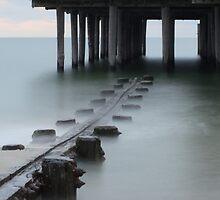 Under The Pier by William Guilmette
