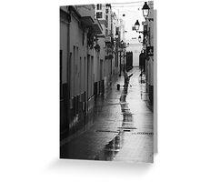 Calle Prim - Rota Greeting Card