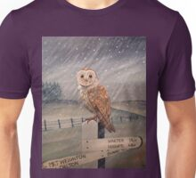 Waiting for the storm to pass.... Unisex T-Shirt