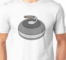 Antique Curling Rock Unisex T-Shirt