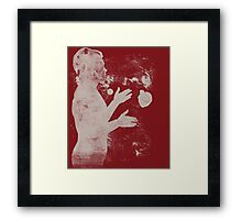 the juggler - catch it if you can Framed Print