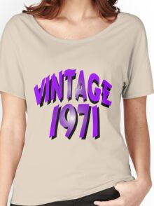 Vintage 1971 Women's Relaxed Fit T-Shirt
