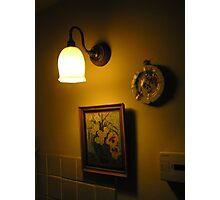 Wall lamp Photographic Print