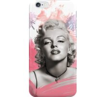 Marilyn Monroe- Celebrity watercolour  iPhone Case/Skin