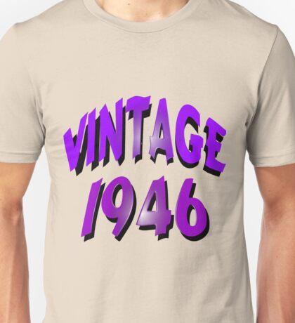 Vintage 1946 Unisex T-Shirt