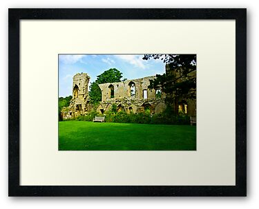 Jervaulx Abbey by Trevor Kersley