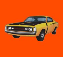 Chrysler Valiant VH Charger - Yellow by tshirtgarage