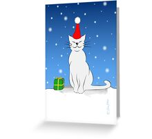 X-Mas Cat (Biestlein) Greeting Card