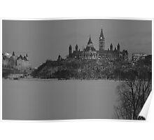 Downtown Ottawa - Winter 2008 Poster
