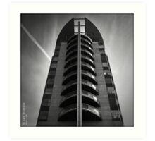 Tower Block - Salford Art Print