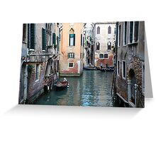 All About Italy. Venice 4 Greeting Card
