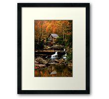 Glade Creek Framed Print