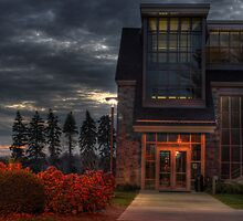 The Entryway (Academic Commons) by Aaron Campbell