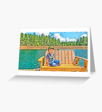 Prescott Arizona Goldwater Lake Greeting Card