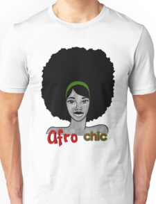 The Afro Chic Unisex T-Shirt