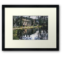Reflection on a Canal Walk Framed Print