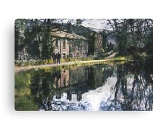 Reflection on a Canal Walk Canvas Print