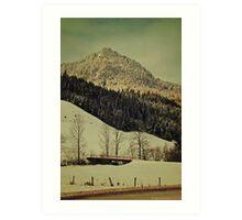 Winter Composer 5 Art Print