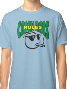 Cannabis Rules Classic T-Shirt