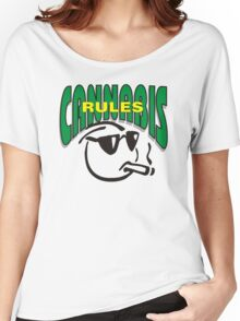 Cannabis Rules Women's Relaxed Fit T-Shirt
