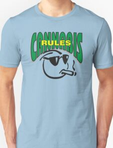 Cannabis Rules Unisex T-Shirt