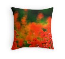 XMAS colours Throw Pillow